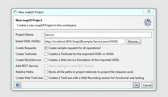 how to create wsdl file from web services