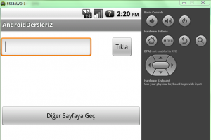 android buton