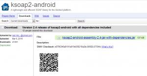 android ksoap kullnımı