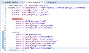 android arka plan resmi ekleme